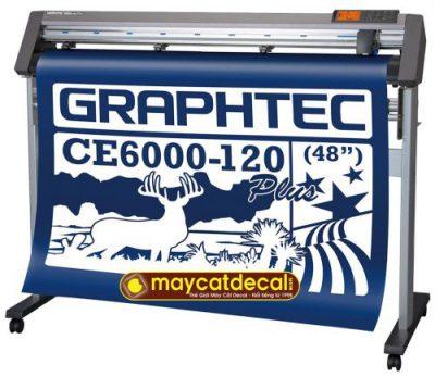 Máy cắt decal Graphtec CE6000-120 Plus Nhật Bản